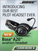 Bose A20 Aviation Headsets $995 at Avionics Specialists LLC
