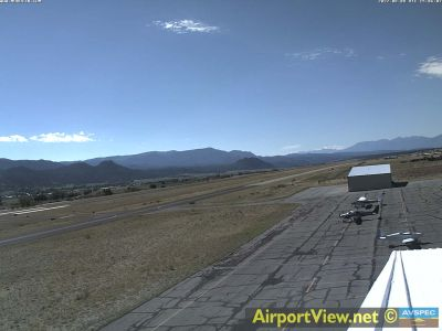 KAEJ - Central Colorado Regional Airport - S - click image to view movie in new window. Weather camera is  0.7 nm NW of AEJ