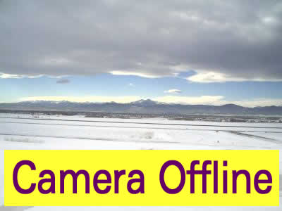 KFNL - Fort Collins-Loveland Airport - NW - click image to view movie in new window. Weather camera is  8.5 nm S of 0CO7