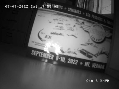 KMVN - Mount Vernon Airport - NW - Camera 2 - Weather camera at MVN